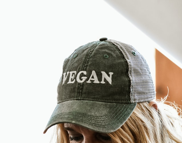 this image shows going on a raw vegan diet cap